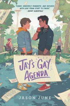 Jay's Gay Agenda, book cover