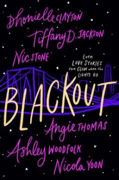 Blackout, book cover