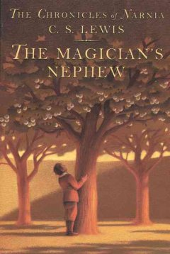 The Magician's Nephew, book cover