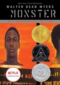 Monstruo, portada de libro