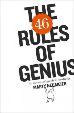 The 46 Rules of Genius An Innovator's Guide to Creativity, book cover