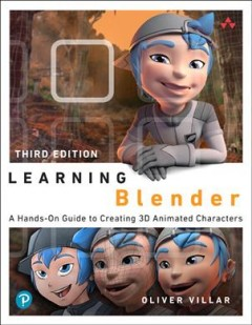 Learning Blender, book cover