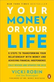 Your Money or Your Life, book cover