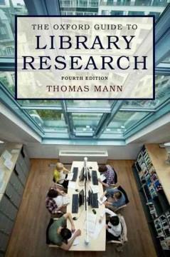 The Oxford Guide to Library Research, portada del libro