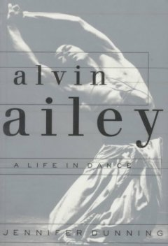 Alvin Ailey A Life in Dance, book cover