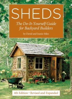 Sheds, book cover