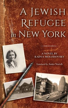 A Jewish Refugee In New York, Rivke Zilberg's Journal, book cover
