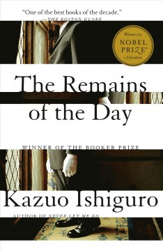 Remains of the Day – Kazuo Ishiguro