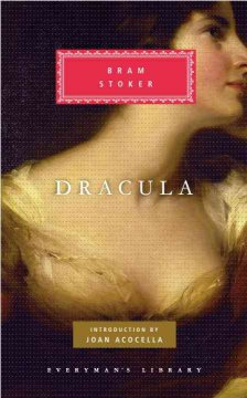 Dracula by Bram Stoker, book cover