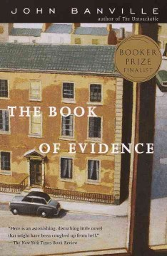 The Book of Evidence by John Banville, book cover