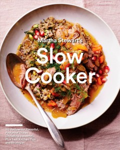 Martha Stewart's Slow Cooker, book cover