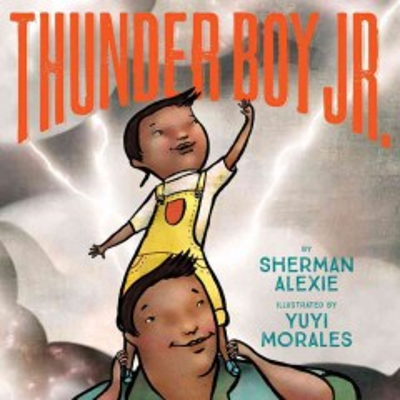 Thunder Boy Jr, portada del libro