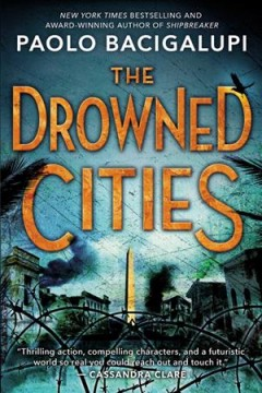 The Drowned Cities, book cover