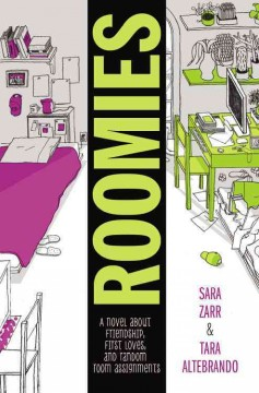 Roomies, book cover