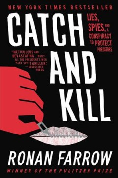 Catch and Kill by Ronan Farrow, book cover