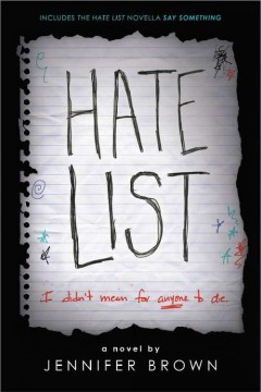 Hate List, book cover
