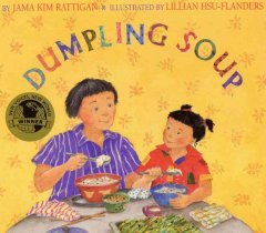 Dumpling Soup, book cover