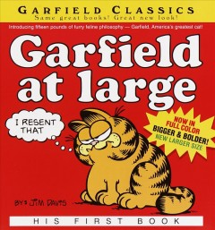 Garfield at Large, book cover