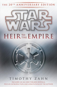 Heir to the Empire by Timothy Zahn, book cover