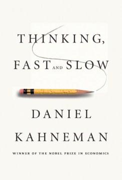 Pensamiento, rápido y lento, portada del libro