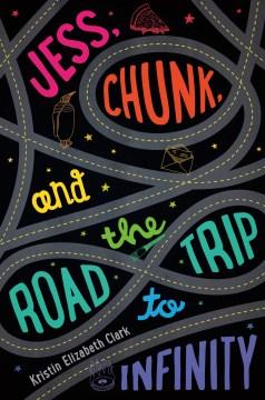 Jess, Chunk y el viaje por carretera al infinito, portada del libro