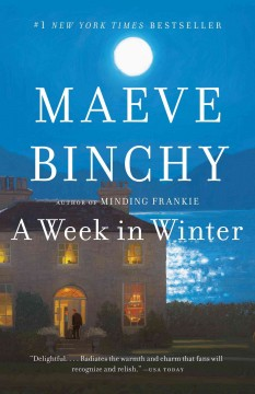 A Week in Winter by Maeve Binchy, book cover