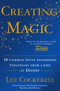 Creando magia, portada de libro