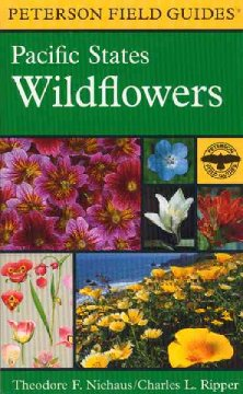 A Field Guide to Pacific States Wildflowers, book cover