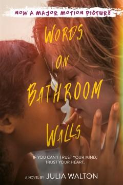 Palabras en las paredes del baño, portada de libro