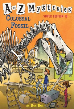 Colossal Fossil, book cover