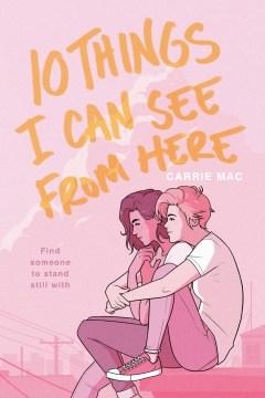 10 cosas que puedo ver desde aquí, portada del libro