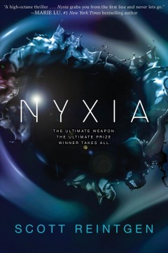 Nyxia, book cover