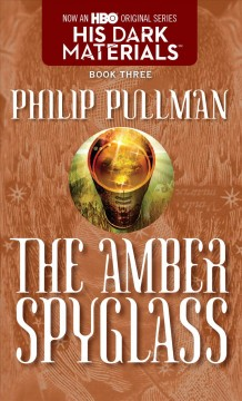 The Amber Spyglass, book cover