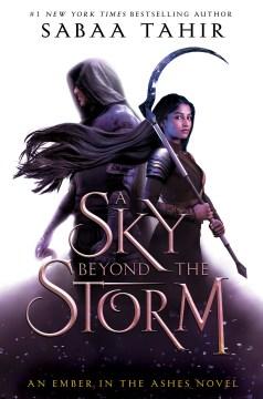 Un cielo más allá de la Storm, portada del libro