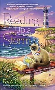 Reading up a storm / Eva Gates.