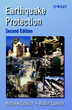 Protección contra terremotos, portada de libro