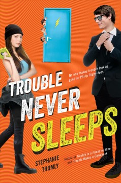 Trouble Never Sleeps, book cover