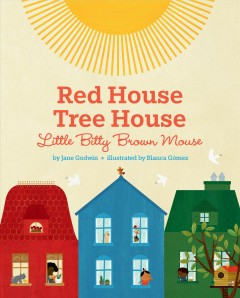 Red House Tree House Little Bitty Brown Mouse