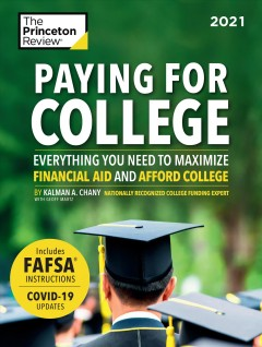 Paying for College, book cover