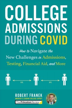 College Admissions During COVID, book cover