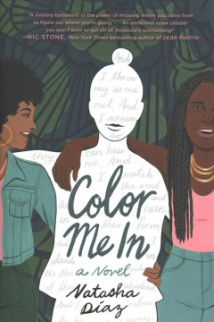 Color Me In, book cover