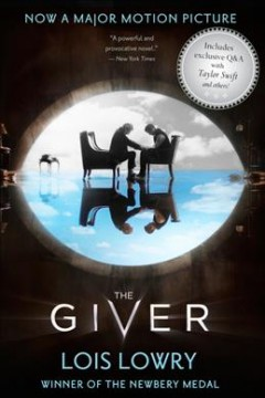 The Giver, book cover