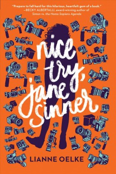 Nice try, Jane Sinner, book cover