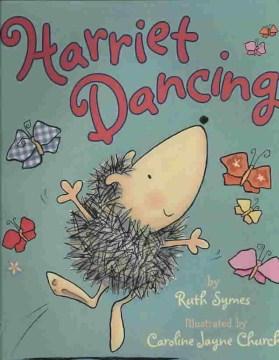 Harriet dancing, book cover