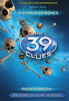 The Maze of Bones (39 Clues series), book cover