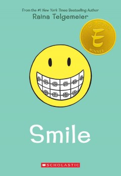 "Cover of ""Smile"" by Reina Telgemeier"