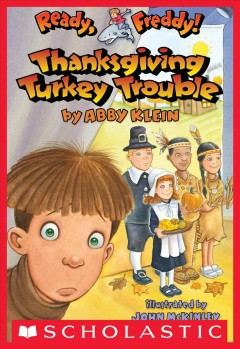 Thanksgiving Turkey Trouble, book cover