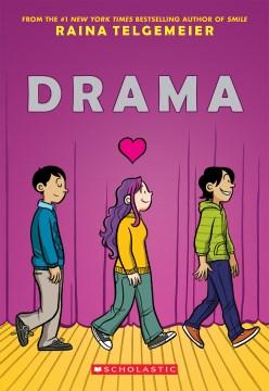 portada del drama, tres niños caminando en una sola fila, hay un corazón sobre el del medio mientras mira al niño frente a ella