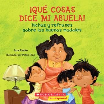 ¡Que cosas dice mi Abuela!, book cover
