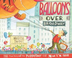 Balloons Over Broadway, book cover